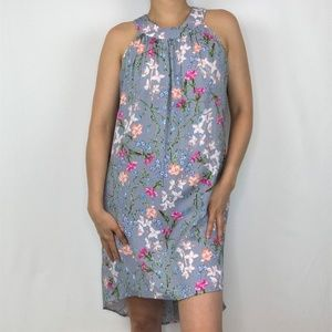 Maurices High Low Floral Print Dress